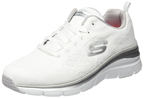Skechers (SKEES) Empire - Rock Around, Damen Funktionsschuh, Schwarz (Bbk), 36.5 EU (3.5 UK)