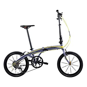 Camp Orbit up Lightweight Folding Bike