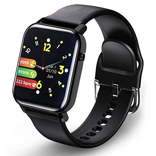 Smartwatch, Fitnesshorloge Fitness Tracker Horloge 1.4 Volledig touchscreen Smart Watch IP68 Waterdicht Sporthorloge met…