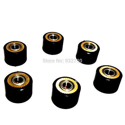 FINCOS 1/2/3/4/5/6/10pcs Pinch Roller for Roland Vinyl Plotter Cutter 4x10x14mm Paper Pressing Wheel Engraving Machine Printer Parts - (Color: 10pcs) by FINCOS (Image #3)
