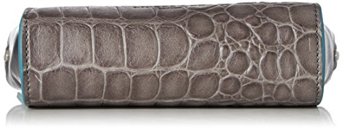 Liebeskind Berlin Hollywood Famecm - Borse a tracolla Donna, Silber (French Grey Rock Gr.), 6x11x17 cm (B x H T)