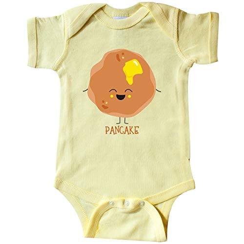 inktastic - Pancake Costume Infant Creeper 12 Months Banana Yellow 31d33 for $<!--$14.99-->