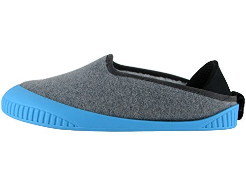Sky Sole With Kush Light Unisex Classic Dualyz Grey Removable Blue Slipper zfnZHnS
