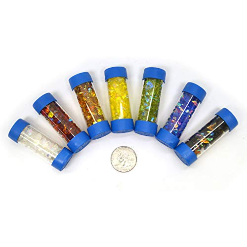 CBS Colored Dichroic Frit Assortment - 90 Coe by CBS Dichroic Glass (Image #2)