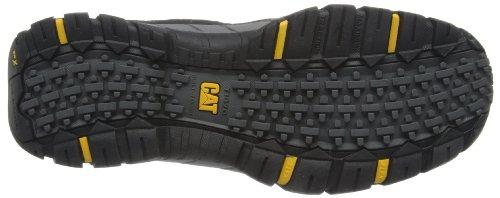 CAT Footwear Crompton S1P - Botas de cuero para hombre Gris (Dark Gull Grey)