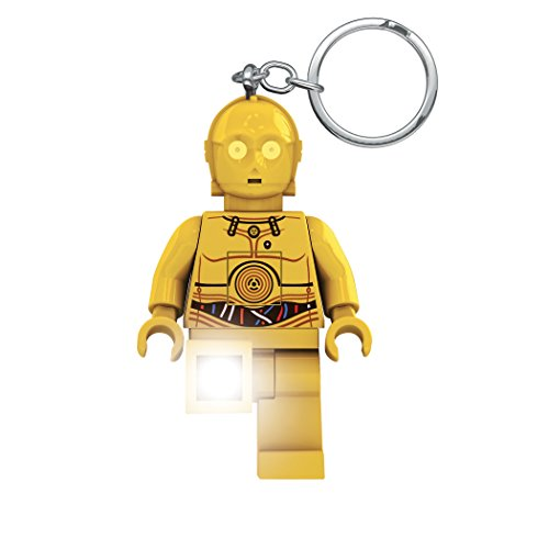 Key Light Chain Keychain Torch Lego Star Wars C-3PO LED LITE