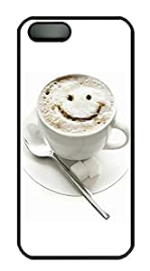 iPhone 5s Case, iPhone 5s Cases - Cup smiley Custom Design iPhone 5s Case Cover - Polycarbonate¨CBlack