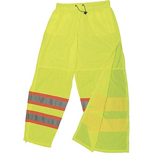 Radians Men's Type R, Class E High Visibility Surveyor Safety Pants — Lime, 5X/6X, Model# SP61-EPGS