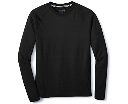 Long Smartwool Underwear (SmartWool Men's Merino 150 Baselayer Long Sleeve (Black) Medium)