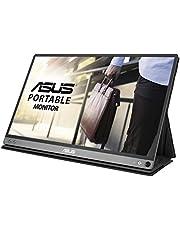 ASUS Zen Screen MB16AC 15.6 Inches Full HD Flicker Free Portable USB Monitor, Gray, MB16AC