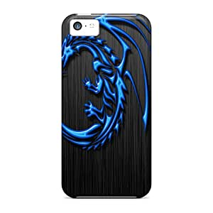 New Arrival Premium 5c Case Cover For Iphone (tribal Dragon)