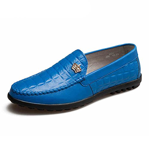 Mens Waterproof Slip-Ons - Perfect for Casual Walking and Outdoor Activities Blue2