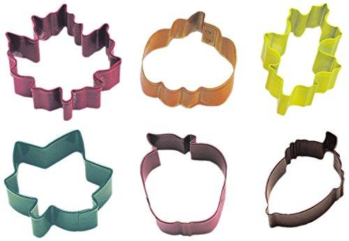 mini autumn cookie cutters - 2
