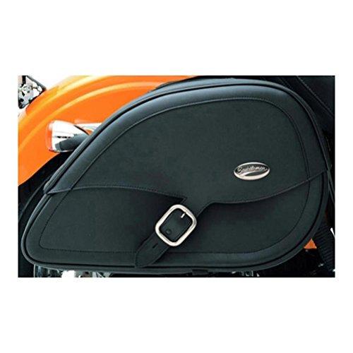Saddlemen Rigid Mount Saddlebags With LED Tear Drop Drifter for Harley Davidson ()