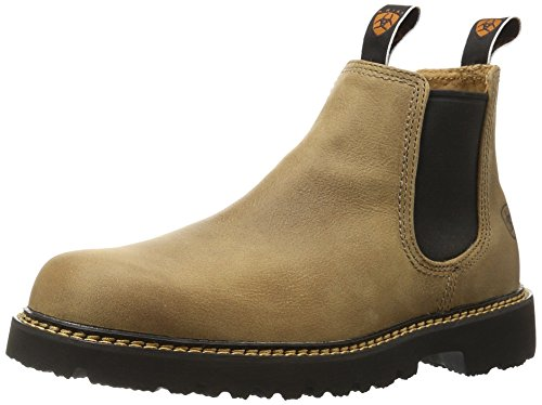 Ariat Men's Spot Hog Western Cowboy Boot, Prairie Sand, 10.5 D US