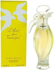 L'AIR DU TEMPS Perfume. EAU DE TOILETTE SPRAY 3.3 oz...