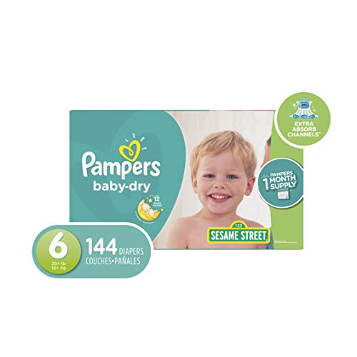 Pampers Diapers Size 6 (OLD)