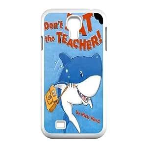 T-TGL(RQ) Print your own photo phone Case for Samsung Galaxy S4 I9500 cheap Shark Week case