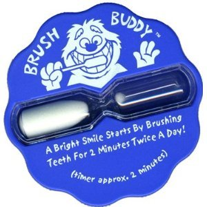 amazon com brush buddy 2 minute sand timer for kids toothbrush