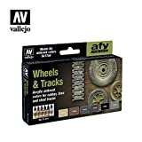 Vallejo Wheels and Tracks Model Air Set