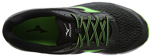Mizuno Men's Wave Inspire 13 Running Shoes Black (Dark Shadow/Green Gecko/Black) xIBzwBcRS1