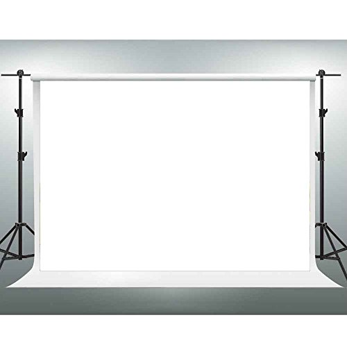7 Color Video - GESEN Backdrop 10X7ft White Solid Color Non-woven Fabric Photography Background Video Studio Props WGE002