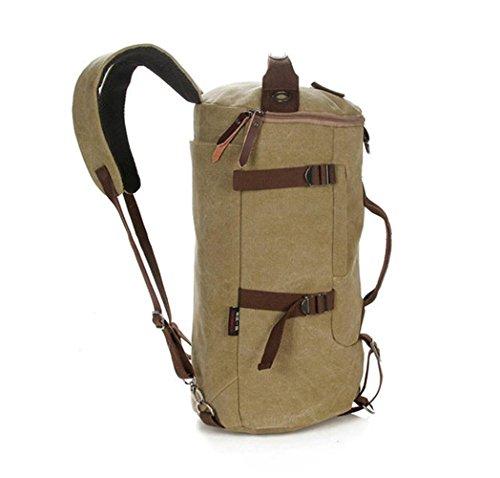 Outdoor zaino da viaggio multi - sport tela funzionali tamburo borsa a tracolla borsa a tracolla tempo libero zaino borsa da viaggio viaggio