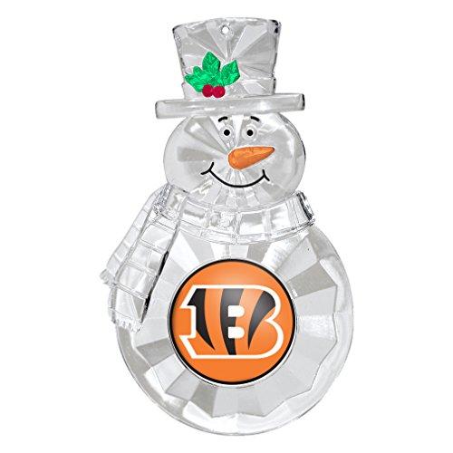 Boelter Brands NFL Cincinnati Bengals Traditional Snowman Ornament -