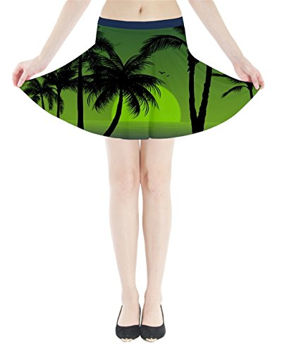 CowCow - Falda - para mujer Verde