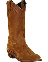 Abilene Mens 12 inch Brown Western Work Boot