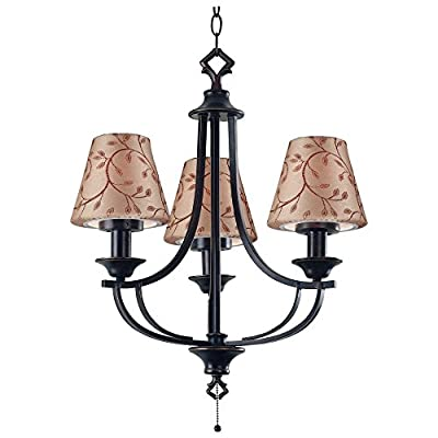 Kenroy Home Belmont Outdoor Chandelier - 23H in. Oil Rubbed Bronze
