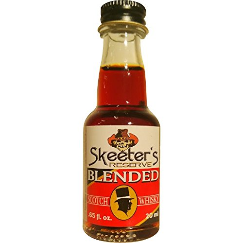 Skeeter's Reserve Blended Scotch Whisky Premium Essence - Flavor Concentrate For Mixers and Cooking Recipes - Official Reloads For The Outlaw Kit MADE BY American Oak Barrel - 20 ml bottle