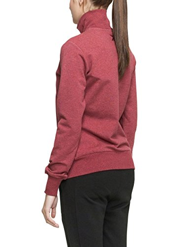 Out red Rouge Piece Mel High shirt Sport Neck Mixte Zip Sweat One De wR4qIC