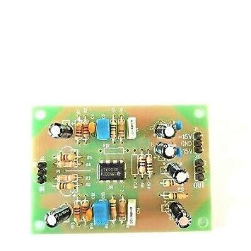 MagiDeal Preamplificador Ne5532 Amplificador de Audio Est/éreo M/ódulo PCB DIY