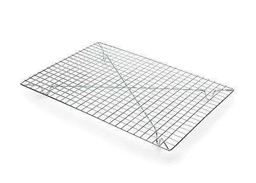 Fox Run 4694 Rectangular Cooling Rack, Iron/Chrome, 10-Inch x 14-Inch