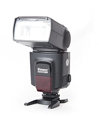 SIMPEX 522 Manual Shoe Mount Flash for DSLR Cameras (Black)