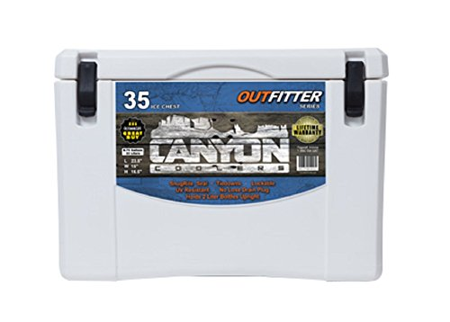 Canyon Coolers Outfitter Series 35qt- White Marble