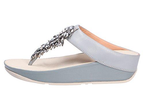 Grau Rumba Donna Toe Sandali Sandals thong Fitflop Punta Aperta 8xdqwaSZ