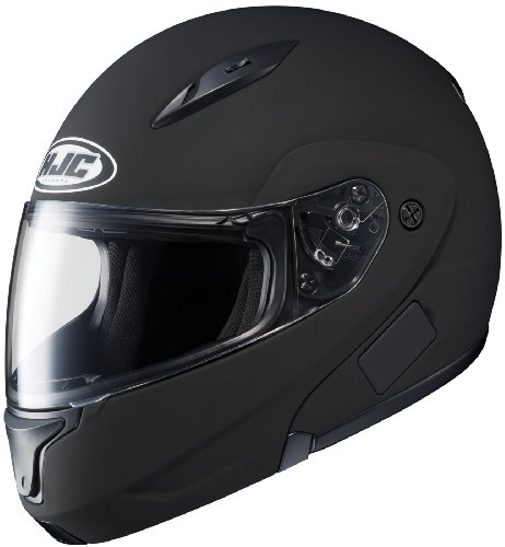 Bluetooth Modular Motorcycle Helmet (HJC CL-MAXBT II Bluetooth Modular Motorcycle Helmet (Matte Black, Medium))