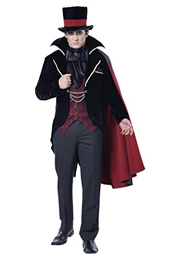 California Costumes Men's Immortal Vampire Groom Costume, Black/Red, X-Large