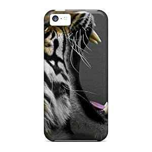 Quality Michorton Case Cover With Tiger Nice Appearance Compatible With Iphone 5c