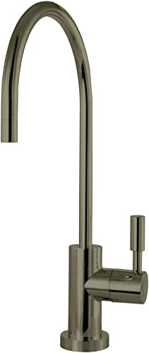 Kingston Brass KSAG8193DL Concord Reverse Osmosis System Filtration Water Air Gap Faucet, Antique Brass