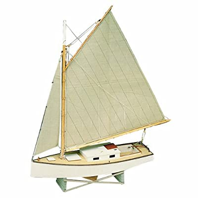 Midwest Products 965 Static Display Apprentice Boat Model Crafts Kit, Beginner, Chesapeake Bay Flattie: Arts, Crafts & Sewing