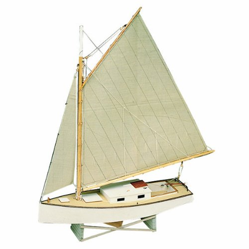 Midwest Products 965 Static Display Apprentice Boat Model Crafts Kit, Beginner, Chesapeake Bay Flattie