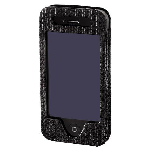 Hama Slim Case Handy-Fenstertasche für Apple iPhone 4 schwarz