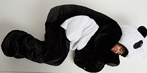 Snoozzoo Adult Panda Sleeping Bag for Person up to 75 inches Tall. ()