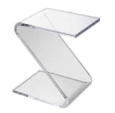 Tavolini Da Salotto Plexiglass.Tavolino Da Salotto Z Plexiglas Trasparente Brillante Comodino