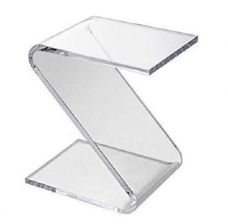 Tavolini Da Salotto In Plexiglass.Tavolino Da Salotto Z Plexiglas Trasparente Brillante Comodino