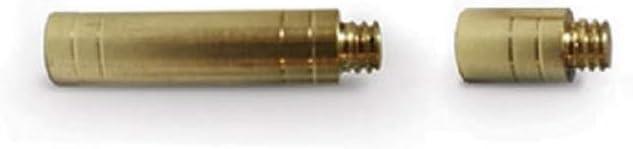 12pcs 38-300 g poids lourd Tir à L/'Arc Flèche Brass Inserts base ID6.2mm Arbre
