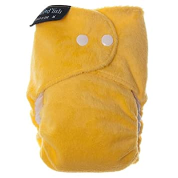 Itti Bitti Bitti Dlish All-in-One Diapers, Yellow, Small